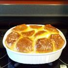 Chicken pot pie with grands biscuit crust