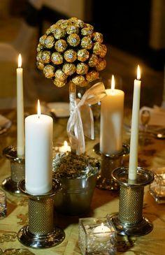 Ferrero Rocher decora la tavola