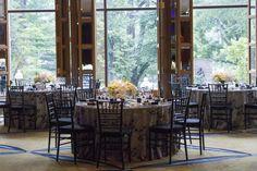 Elegant setting in Aujourd'hui event space.   Photo Credit: Winslow Martin