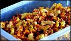 Dark Chocolate Popcorns ~ Food Fun Freak