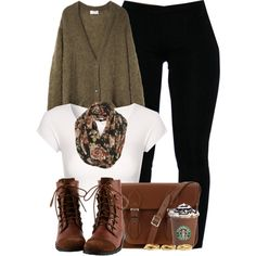 """Floral Scarf."" by cheerstostyle on Polyvore"