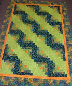 Bryon's green quilt (November 2008)