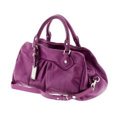 Women's shoes/bags: Marc by Marc Jacobs Classic Q Groovee - Electric violet ($330) found on Polyvore