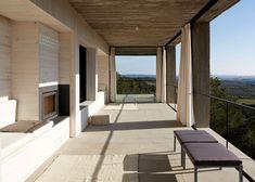 interior design, von ellrichshausen, design trend, houses, design interiors, pezo von, outdoor fireplac, interior architecture, solo hous