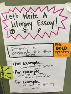 sample literary essay 4th grade - Example Of Literary Essay
