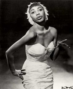 Josephine Premice was a Haitian calypso singer and Broadway star who made waves in 1958 when she married Timothy Fales, a white NYC socialite. They moved to Europe for a few years to escape the resulting discrimination, which explains why she's so unsung. Their daughter, Susan Fales-Hill, was a producer and writer for A Different World