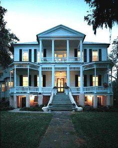 beaufort, breakfast, bed, southern hous, cuthbert, dream houses, porch, south carolina, dreamhous