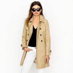 Collection icon trench; JCrew