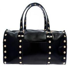 Robertson II Signature Black with Gold Hardware by Hammitt Los Angeles :: Handbag Tailor
