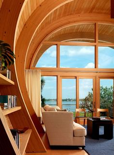 Wood,curves,windows