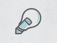 Dribbble - Concept Icon by Zach Roszczewski