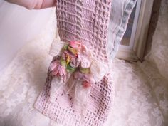 Antique Crocheted Dance Wrist Purse with by MichelleReneeArt, $28.00