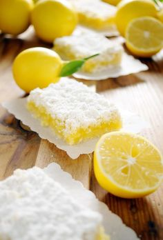 lemon bars ...