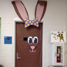 My door display for spring.