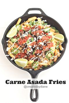 Delicious Carne-Asada-Fries-@createdbydiane