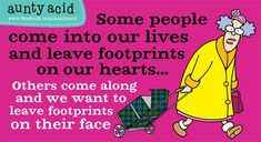 Lol. Aunty Acid is indeed funny!