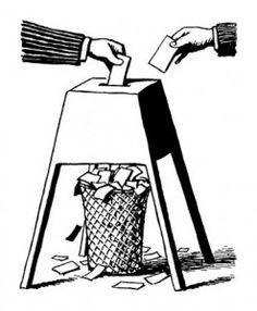Fraude electoral (http://www.bustathief.com). Enlace en 'La Columnata': http://lacolumnata.es/politica/un-minero-en-el-parlamento/las-elecciones-generales-de-2012-la-crisis-y-los-recortes-ha-votado-a-rajoy-entone-el-mea-culpa.
