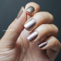 Two-tone metallic