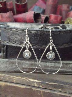 bullet jewelri, diy earring, bullet jewelry
