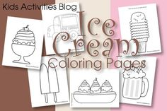 Ice Cream Coloring Pages {Free Printable!} - Pinned by @PediaStaff – Please Visit  ht.ly/63sNt for all our pediatric therapy pins