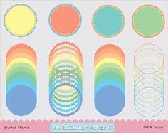 Free Printable Clip Art printabl clip, scallop frame, clip art, frame clip, free printabl, free scallop