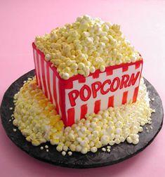 Movie Theme Party Cake