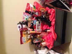 Manly gift basket