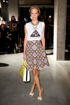 Poppy - The perfect way to dress up a tee // http://www.pinterest.com/AnnaEEvents/boards/