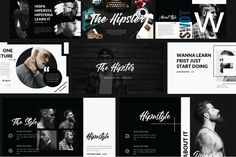 Hipster Free Powerpoint Template - Presentations on Powerpointify