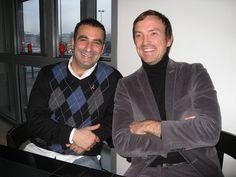 Wayne Youkhana with Ingmar Bartels of Nordpol