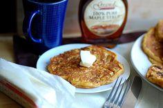 Whole Wheat Oat Gingerbread Pumpkin Pancake