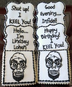 Achmed, The Dead Terrorist Themed Sugar Cookies