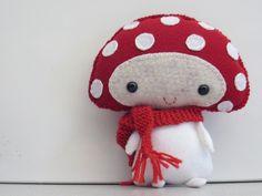 Mushroom cutie plush, toys, diy project, mushroom softi, felt craft, mushroom boy, softi inspir, crafti inspir, mushrooms