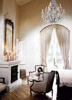 a French sense of style #bedroom #paris