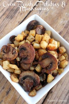 Oven Roasted Potatoe