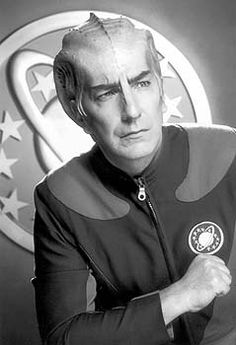 Alan Rickman as Alexander Dane as Dr. Lazarus: Galaxy Quest <3<3 Like an Alien Severus Snape. It doesn't get any better than that.