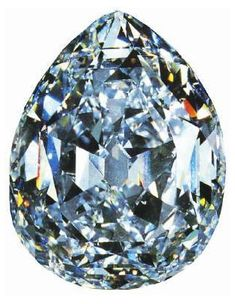 The Cullinan I - aka the Star of Africa. 530.20 carat diamond.