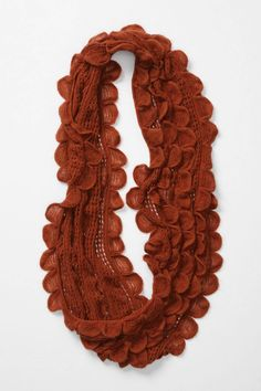 scalloped rust wrap--Anthropologie