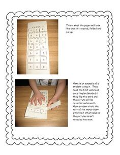 This engaging activity is perfect for small groups or your literacy centers. Students will read CVC words and then fold up the paper to reveal a picture underneath to see if they've read the word correctly.  Only $2! read cvc