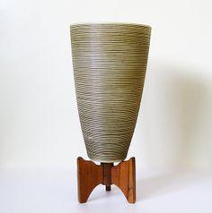 Fiberglass Lamp | Mid Century Modern