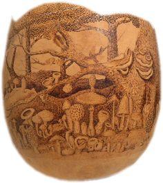 gourd artist, decor gourd, artist gourd, gourdsgourd art