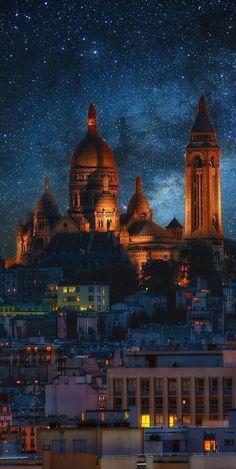 Sacré Coeur, Montmartre, Paris, France