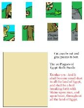 bibl lesson, puzzles, children bibl, mosesten plagu, class mose, bibl class, egypt, 10 plagu, 6th plagu
