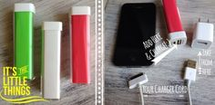 Think all my kids need these for Chritmas! Great Stocking Stuffer..Portable Phone Chargers
