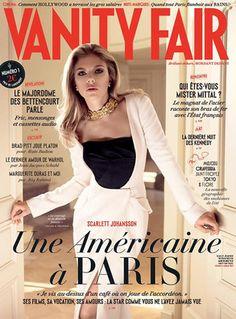 The lovely Scarlett Johansson covers Vanity Fair France.
