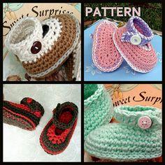 crochet babi, booti pattern, pattern babi, babi booti, crochet patterns