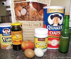 The Chicken Chick: Flock Block Substitute Recipe. Healthy Boredom Buster for Chickens. Ok, so this is a recipe for chickens, not people, but hey-the girls need treats that are good for them too!