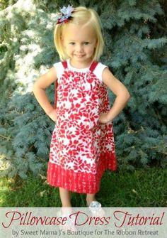 DIY Clothes Refashion: Pillowcase Dress Tutorial