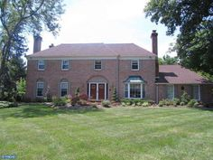 Brick front center hall colonial. MLS 6377497.  Courtesy of Keller Williams Real Estate.