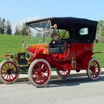 1912 Model T Ford Touring